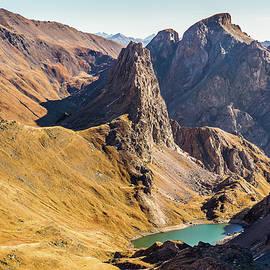 Paul MAURICE - Aretes de la Bruyere - French Alps