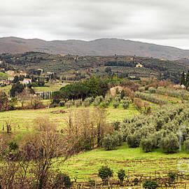 Ezeepics  - Arezzo Hills View From San Donato Belvedere