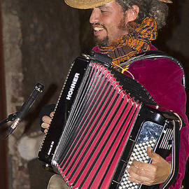 Al Bourassa - Argentinian Accordion Player