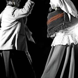 Al Bourassa - Argentinian Dancers In Andalucia, Colombia