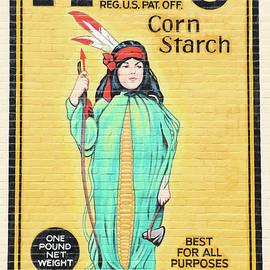J Laughlin - Argo Corn Starch Wall Advertising