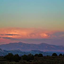 David Gordon - Arizona Landscape at Sunset