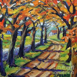 Richard T Pranke - Around The Bend by Prankearts