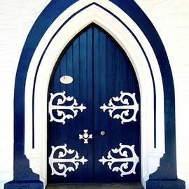 Doug Matthews - Arrowtown Church Door