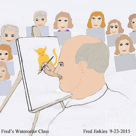 Fred Jinkins - Art Class