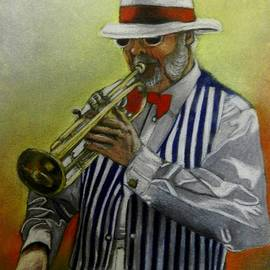 Sandra Sengstock-Miller - Art Deco Jazz Man