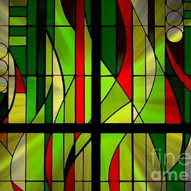 Jenny Revitz Soper - Art Deco Stained Glass