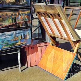 Miriam Danar - Art for Sale - Summer in the Park