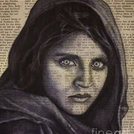 Michael Cross - Art in the news 64-Afghan Girl