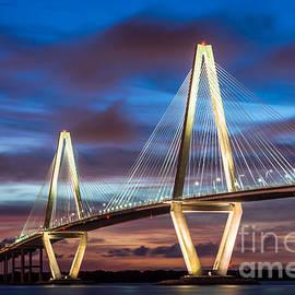 Jennifer White - Arthur Ravenel Bridge At Night