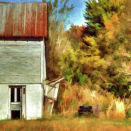 William Sturgell - Artistic Barn and Trees