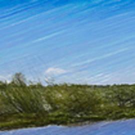 Leif Sohlman - Artistic creek of Enkoping May