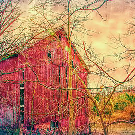 William Sturgell - Artistic Dilapidated Old Barn