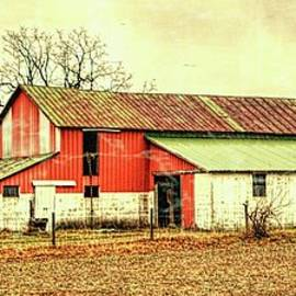 William Sturgell - Artistic Weathered Barn