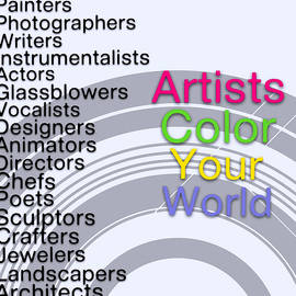 Susan Maxwell Schmidt - Artists Color Your World - Art for Artists Series