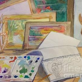 Ellen Levinson - Artists Workspace - Studio
