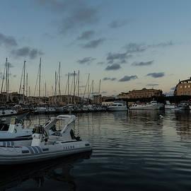 Georgia Mizuleva - As the Evening Gently Comes - Ortygia Syracuse Sicily Grand Harbor