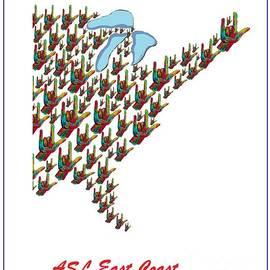 Eloise Schneider - ASL East Coast Map