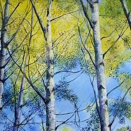 Cathy MONNIER - Aspens in autumn