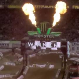 Jack Brown - At The Supercross Congrats Ryan