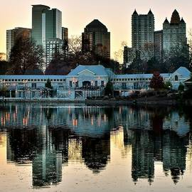 Frozen in Time Fine Art Photography - Atlanta over Piedmont Park