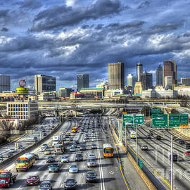 Reid Callaway - Atlanta Skyline Cityscape Art
