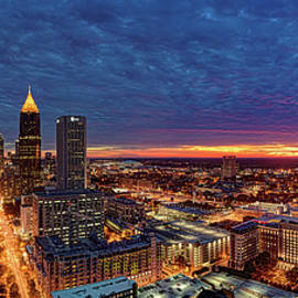 Doug Nurnberger - Atlanta Skyline
