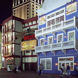 Sally Weigand - Atlantic City boardwalk at night