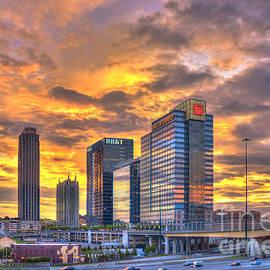 Reid Callaway - Atlantic Station Reflective Beauty Atlanta