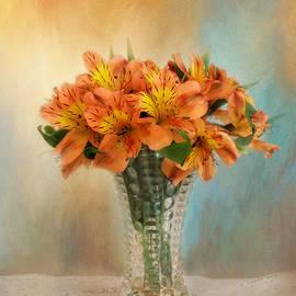 Kim Hojnacki - Autumn Alstroemeria Flowers