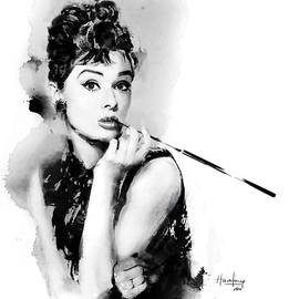 Haze Long - Audrey Hepburn