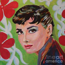 Robert Yaeger - Audrey Hepburn Portrait
