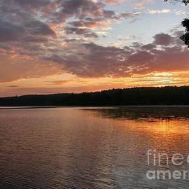 Sandra  Huston - August Sunrise-Tacoma Lakes