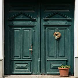 Menega Sabidussi - Austria Traditional Village House Door