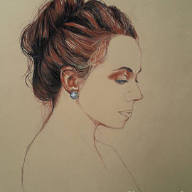 Maja Sokolowska - Autoportrait Maja Sokolowska