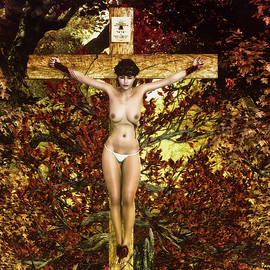 Ramon Martinez - Autum crucifix I