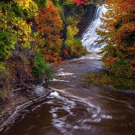 Mark Papke - Autumn At Ithaca Falls