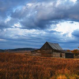 Vishwanath Bhat - Autumn at Mormon Row Barn Grand Teton National Park