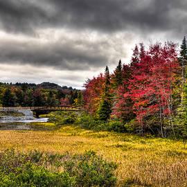 David Patterson - Autumn at the TOBIE Trail Bridge