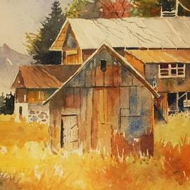 Al Brown - Autumn Barn and Sheds