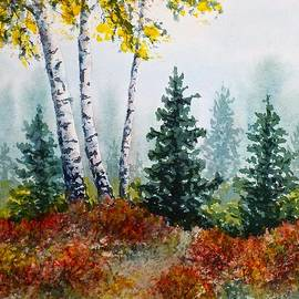 Carolyn Rosenberger - Autumn Birch