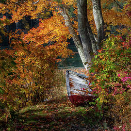 Bill Wakeley - Autumn Boat