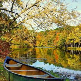 Marcel  J Goetz  Sr - Autumn Canoe Trip