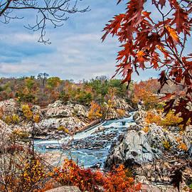 Lynn Bauer - Autumn Cascades on the Potomac