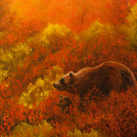 Dan Twitchell - Autumn Denali Bears