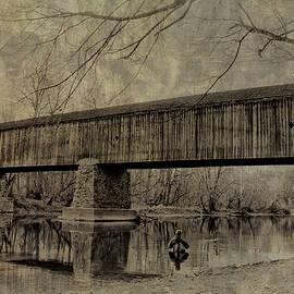 Bill Cannon - Autumn Fisherman - Tyler State Park