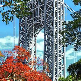 Regina Geoghan - Autumn George Washington Bridge NJ Tower