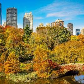 Kenneth Laurence  Neal - Autumn in Central Park 2