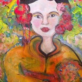 Judith Desrosiers - Autumn in the garden geisha