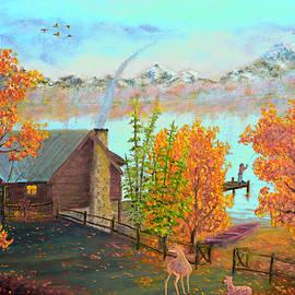 Ken Figurski - Autumn Lake Mountain